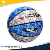 Cuero barato de la PU Baloncesto personalizado para el ejercicio