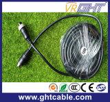 Varón del cable de extensión del conector de la aviación de 4 Pin a la hembra