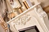 旧式な彫刻のホーム家具LEDはつける暖房の電気暖炉(325B)を