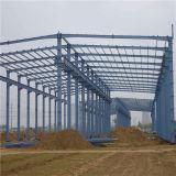 Construcción Pre-Dirigida de la estructura de acero para el taller/el almacenaje/el almacén