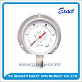 Differenzdruck-Abmessen-Doppelter Bourdon-Gefäß-Druckanzeiger