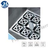Scolo di pavimento concreto decorativo del quadrato della stanza da bagno dell'acciaio inossidabile (D26-02)