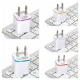 De Lader van de muur, Lader 1A/5V Tweekleurige USB