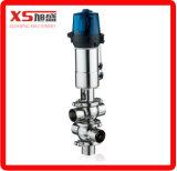 DN80 Acero inoxidable higiénico-sanitarias de la válvula mixproof / Mezcla Prueba de válvula / elevación del asiento