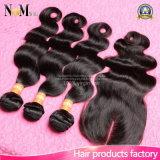 Brasilianische Jungfrau-Haar-Karosserien-Welle mit Schliessen-brasilianischen Haar-Webart-Bündeln mit dem Schliessen Facebeauty Haar mit Schliessen-Bündeln