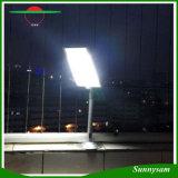 Lumière extérieure de garantie d'énergie solaire de détecteur de mouvement de la lumière 20 DEL PIR de jardin d'éclairage