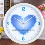 Reloj de pared de moda decorativo de la sonrisa simple