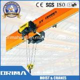 Abm 모터를 가진 Brima 유럽 유형 10ton 전기 철사 밧줄 호이스트