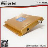 Répéteur mobile à deux bandes de signal de la qualité GSM/3G 900/2100 3G 4G avec l'antenne