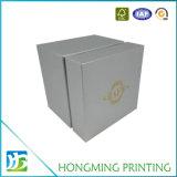 Коробка выполненного на заказ вахты логоса золота упаковывая