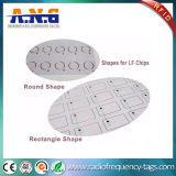 Embutimento seco do cartão de baixa frequência de RFID com a microplaqueta Em4200