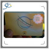 Tarjeta de identificación de miembro de la anti-falsificación con la impresión contra la falsificación