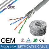 Cable de alta velocidad sipu 0,57 mM de cobre del conductor FTP CAT5 Red