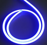 Indicatore luminoso al neon flessibile blu impermeabile del LED, striscia del LED
