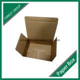 주문 색깔을%s 가진 광택 있는 백색 물결 모양 수송용 포장 상자