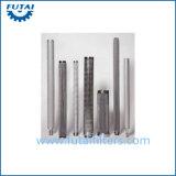 Tubo filtrante vuoto ad alta pressione del pacchetto della fibra