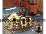 Metalizando a máquina de revestimento do vácuo para utensílios de mesa do ouro