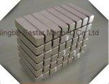 Ímã permanente do bloco do Neodymium do tamanho grande com certificado do ISO