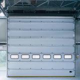 Portello del garage isolato acciaio automatico di obbligazione