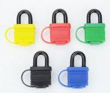 多彩な熱可塑性カバーが付いている40mmの防水鋼鉄によって薄板にされるロック
