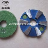 Het Stootkussen van de Vloer van de Diamant van de Band van het metaal voor het Malen van het Graniet het Oppoetsen