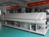 Forno do Reflow A600 para o forno da solda de Reflow das zonas do infravermelho 6 do diodo emissor de luz 1-W