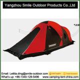 2人4季節の無水ケイ酸上塗を施してある軽量のキャンプ山テント