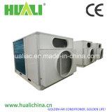 Bomba de calor do condicionador de ar do telhado do uso da fábrica