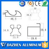 Perfil da borda do gabinete de cozinha do fabricante do perfil do alumínio 6063