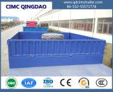 Cimc半ユーティリティ3車軸低いベッドのトレーラートラックのLowbedのトレーラー