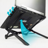 Neuer Entwurfs-Notizbuch-Halter-Standplatz, schwarzer Laptop-Standplatz
