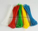 Serre-câble en nylon mou auto-bloqueur libérable en plastique personnalisé