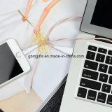 Câble usb universel de roche d'OEM de type neuf pour le câble plat androïde