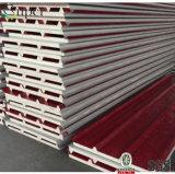 Prepainted鋼板PUサンドイッチ壁パネル