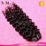 Поставка скручиваемости оплеток вязания крючком Али курьерская покрашенная бразильская римская Jerry быстрая отсутствие линяя человеческих волос