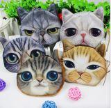 동전 지갑 지갑 귀여운 고양이 핸드백 변경 부대