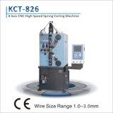 Ressort de compression de commande numérique par ordinateur de Kcmco-826 1-2.6mm enroulant le pot tournant de Machine&Spring