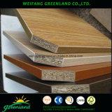 Color melamina aglomerado para muebles de uso