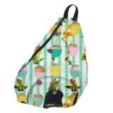 Изготовленный на заказ мешки слинга Backpack плеча мешков бакалеи стильные