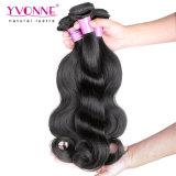 Cabelo do Malaysian do Virgin da extensão do cabelo humano de 100%