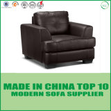 Kanada-Art Loveseat echtes Leder-Sofa-Set