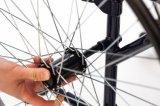 Manual de acero, apoyabrazos ajustables de la altura, sillón de ruedas (YJ-028)