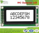 écran LCD du caractère 8X2, MCU 8bit, contre-jour gris, module d'affichage à cristaux liquides de FSTN, ÉPI LCM