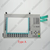 """Interruttore della tastiera della membrana per """" il rimontaggio chiave della tastiera di membrana di tasto/6AV6542-0ad10-0ax0 MP370 12 """" di 6AV6545-0ad10-0ax0 MP370 12 usato per riparare"""