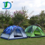 Traving und Wandern Familien-Strand-Zeltes der Personen-3-4 des kampierenden
