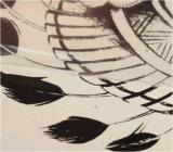 Etiqueta engomada temporal impermeable del tatuaje del tocado indio del cráneo