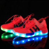 El mejor precio de fábrica de la calidad del estilo clásico LED calza la luz al aire libre del zapato del deporte del resplandor olímpica