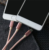 3in1 de Kabel van de Kabel USB van type-c voor Androïde iPhone