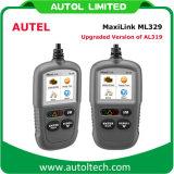 自動スキャンツールのAutel Al319車コード読取装置Autel Maxilink Ml329
