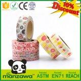 Цвет Manzawa яркий Handcraft лента Washi еды клубники конфеты сортированная картиной для домашнего подарка партии украшения DIY маскируя